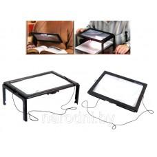 Увеличительное стекло лупа для чтения SiPL LED