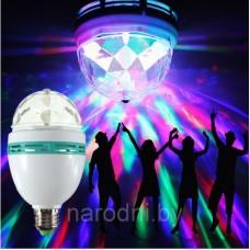 Цветная вращающаяся Led-лампа, цветная светодиодная лампа