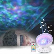 Музыкальный ночник проектор