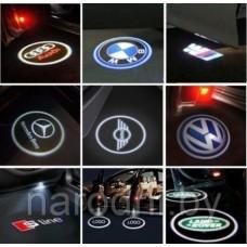 Подсветка логотип в машину GHOST SHADOW LIGHT (Разные марки)