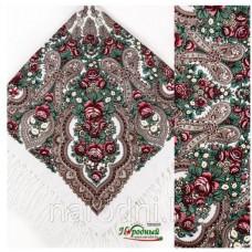 Женский цветной платок(палантин)  (110Х110 см)   10 расцветок